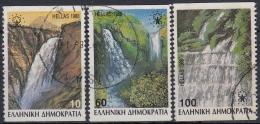 Grecia 1988 Nº 1675/77 (Tipo B) Usado - Usados