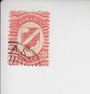Noord-Ingermanland Michel-cataloog 2 Gestempeld Kirjasalo - 1919 Occupation: Finland