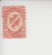 Noord-Ingermanland Michel-cataloog 2 Gestempeld - 1919 Occupation Finlandaise