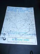 CB11 Répertoire Téléphonique Publicitaire Anderlues Courcelles Trazegniesq Et Environs N°14 1988-89 Pub Régionales - Livres, BD, Revues