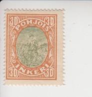 Noord-Ingermanland Michel-cataloog 9 * - 1919 Occupation Finlandaise