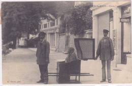 PLOMBIERES LES BAINS   Chaise A Porteur - Plombieres Les Bains