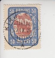 Noord-Ingermanland Michel-cataloog 10 Gestempeld Kirjasalo - 1919 Occupation Finlandaise