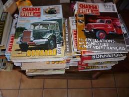 227 Magazines : Charge Utile - Très Très Bon état  (Tracteur , Car , Autobus , Engin De Chantier , Camion ) - Tractors