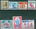 N° 1082-1088    X - 1958 - Belgien