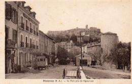 SISTERON Le Fort Pris Du SIGNAVOUX Et La Porte Du DAUPHINE  Animation Autocar - Sisteron