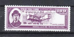 Comores   -   1988.  Storia Del Volo. History Of Fly.  Santos Dumond.  MNH - Transport
