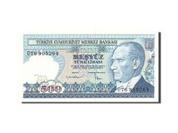 Turquie, 500 Lira, Type Président Ataturk - Turquie