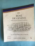 1784 -  Suisse Genève Rosé De Gamay 1996 - Etiquettes