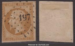 PC 197 (Auve, Marne (49)), Cote 25€ - 1849-1876: Classic Period