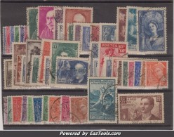 Année 1938 Oblitérés TB ( Y&T N° 372 à 418, Cote : 301€) - France