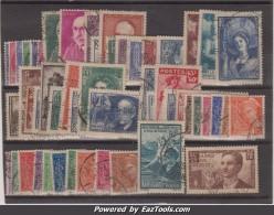 Année 1938 Oblitérés TB ( Y&T N° 372 à 418, Cote : 301€)