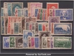 Année 1939 Et 1940 Oblitérés TB ( Y&T N° 419 à 469, Cote : 260€)
