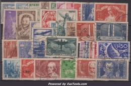Années 1935 Et 1936 Oblitérés TB ( Y&T N° 299 à 333, Cote : 350€)