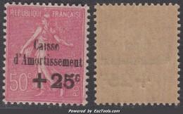 50c De La 3ème Série Caisse D'Amortissement Neuf ** TB (Y&T N° 254 , Cote 75€) - Caisse D'Amortissement
