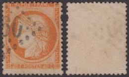 RARE ´4´ Retouché Sur 40c Siège Aspect TB (Y&T N° 38d, Case 146, +200€) - 1870 Assedio Di Parigi