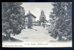 Cpa De Suisse Valais Morgins Hôtel De La Forêt LIOB107 - VS Valais
