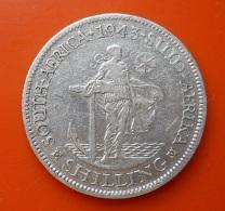 South Africa 1 Shilling 1943 Silver - Afrique Du Sud