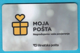 CROATIA POST - Card Loyalty MY POST - Andere Sammlungen