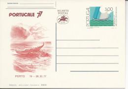 Entiers Postaux Portucale Porto 19-28 XI 77 - Postal Stationery
