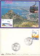 Algérie 1563/4 Carte 16e Congrès International Du Gaz Naturel Liquéfié (GNL 16) ORAN 2010 Energies Gas - Gas