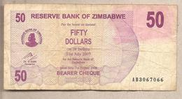 Zimbabwe - Banconota Circolata Da 50 Dollari - 2006 - Zimbabwe