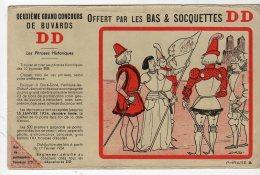 Sept16   76445  Buvard   Chaussettes DD    Phrase A - Reclame