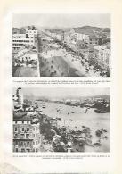 LAMINA GEOGRAFIA 0050: Vista De Nanking Y De Canton China - Andere Sammlungen