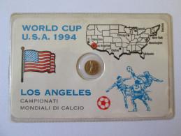 MINI TOKEN WORLD CUP U.S.A. 1994 LOS ANGELES/CAMPIONATI MONDIALI DI CALCIO - Allemagne