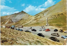 CPSM FRANCE 05 HAUTES-ALPES DIVERS - Col D'Izoard - Voitures Années 1960 - 1965 - Frankreich