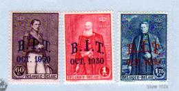 Bureau International Du Travail, 305 / 307*, Cote 30 €, - Bélgica