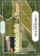 Maquette Château De CHENONCEAU - Editions L'Instant Durable - Port Inclus - Paper Models / Lasercut