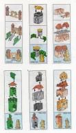 Componibili KINDER - 1998 - Cartine Nr. 99 - 100 - 101 - 102 - 103 - 104 -  (FDC483) - Istruzioni
