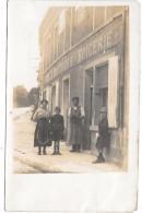 VILLERS ECALLES  - Devanture De Magasin - CAFE EPICERIE A. GAUCHOIS - CARTE PHOTO - Non Classés