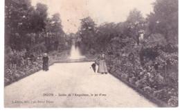Dijon - Jardin De L 'Arquebuse , Le Jet D'eau - Saulieu