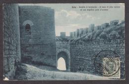 68789/ ENNA, Castello Di Lombardia, Il Muro Di Cintamerlato Ed Una Magnifica Porta D'accesso - Enna