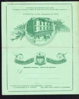 El Salvador  Postal Stationery  1895  Letter Card  2 Cent. - El Salvador