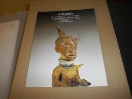 IMPORTANT TRIBAL ART CATALOGUE SOTHEBY'S DU 2 JUILLET 1990 LONDRES - Beaux-Arts