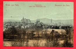 57. Gruss Aus Metz. Souvenir De Metz. Panorama Vom Fort Steinmetz Aus. 1906 - Metz