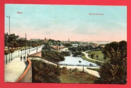 57.  Metz. Mosel-Anlagen.   Metz-Devant Les Ponts. 1910 - Metz