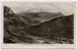 ISLE OF ARRAN : LOCH RANZA - SLEEPING WARIOR - Ayrshire
