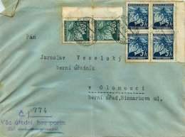 Böhmen Und Mähren   1941  MiNr 20 Vierblock, 55 X2 - Besetzungen 1938-45