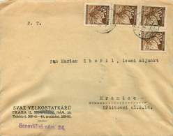 Böhmen Und Mähren   1942  MiNr 24 X4 - Besetzungen 1938-45
