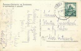 Böhmen Und Mähren   1939  MiNr 26  Einzelfrankatur - Besetzungen 1938-45