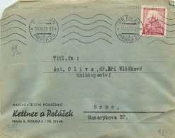 Böhmen Und Mähren   1939  MiNr 28  Einzelfrankatur - Besetzungen 1938-45
