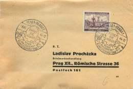 Böhmen Und Mähren  1944 MiNr  58  Einzelfrankatur - Besetzungen 1938-45