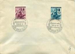 Böhmen Und Mähren  1942 MiNr  111, 112 - Besetzungen 1938-45