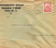 Böhmen Und Mähren  1942  MiNr  68  Einzelfrankatur - Besetzungen 1938-45