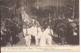 AVERBODE Kroningsfeesten 21-28 Augustus 1910: N° 25: Den Optocht Naar Den 'berg' - Scherpenheuvel-Zichem