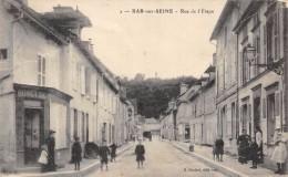 CPA 10  BAR SUR SEINE RUE DE L ETAPE  1918 Animée - Bar-sur-Seine